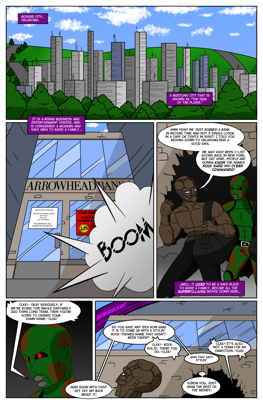 Iron Violet Issue 1: Page 1